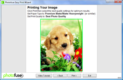 Photofuse Easy Print Wizard Step 4